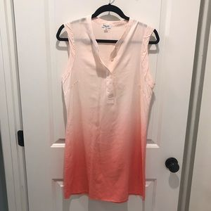 Splendid size S. Tunic dress. V-neck. Sleeveless